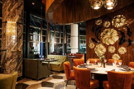 Новый панорамный ресторан CRISTAL открылся в центре Петербурга