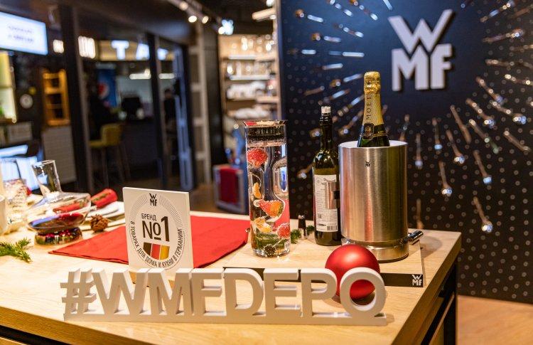 Неповторимый дизайн и немецкое качество: в России открывается официальный интернет – магазин и pop-up корнер WMF
