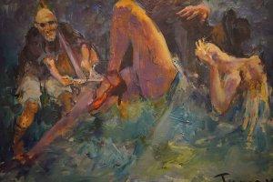 Выставка «Самая длинная ночь» Тумана Жумабаева