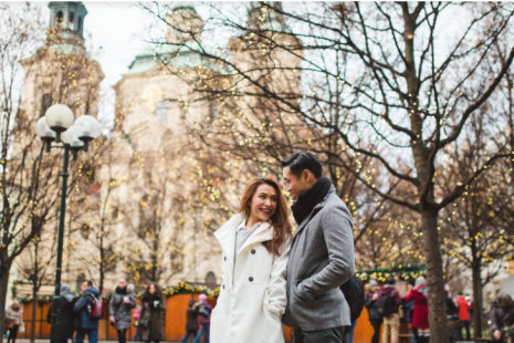 В погоне за зимним волшебством: романтический отдых в Праге
