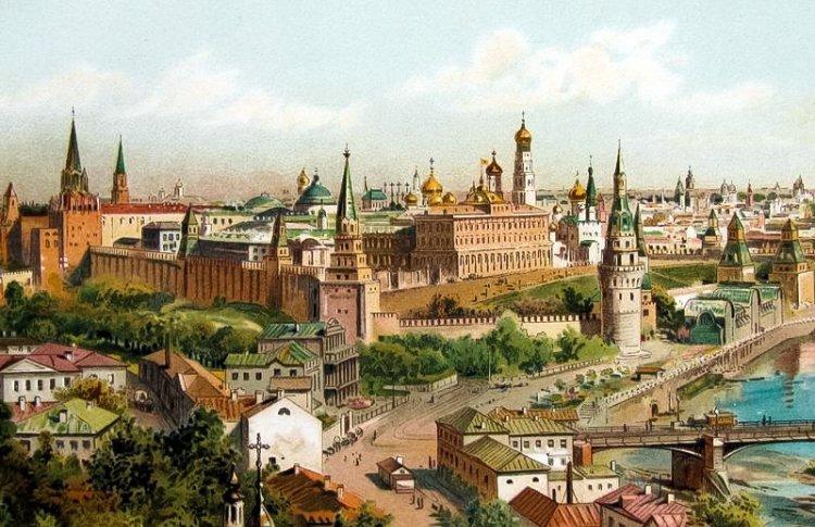 «Бескрайний океан крыш, деревьев и куполов»: что писали о Москве в первых путеводителях