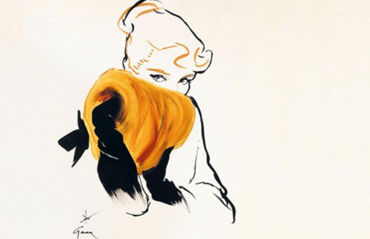 Великие иллюстраторы моды: Рене Грюо