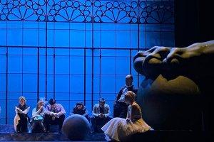 Премьера спектакля «Безумный день, или Женитьба Фигаро» в Театре Комедии