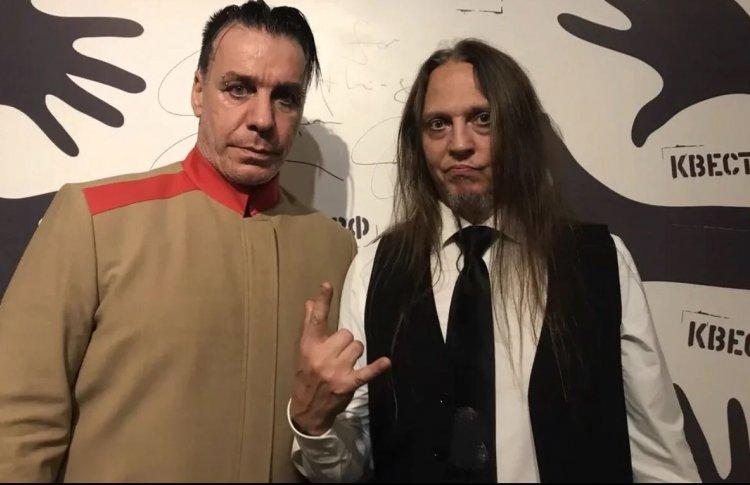 Солист Rammstein Тиль Линдеманн снял новый клип в питерском квесте