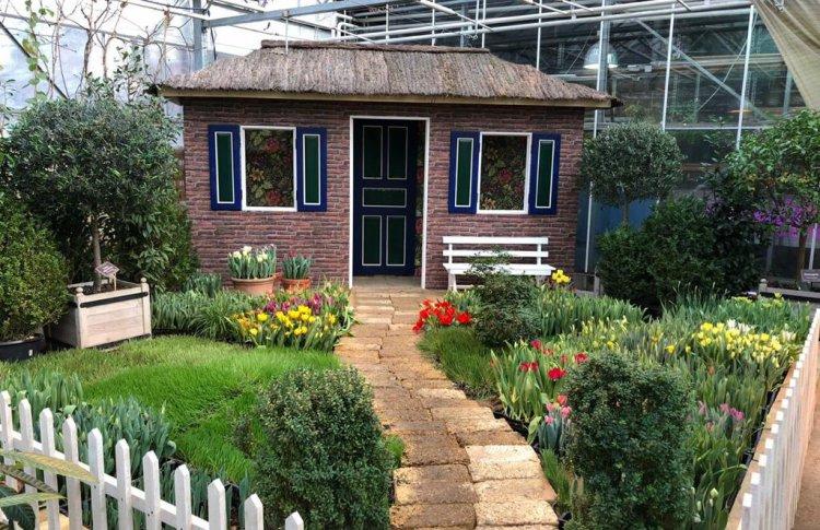 В Аптекарском огороде поставят Голландский дом с тюльпанами