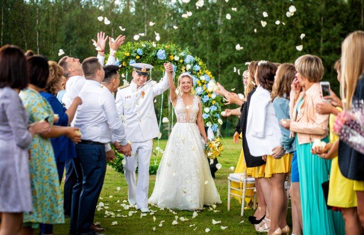 Свадьба в парк-отеле Levada