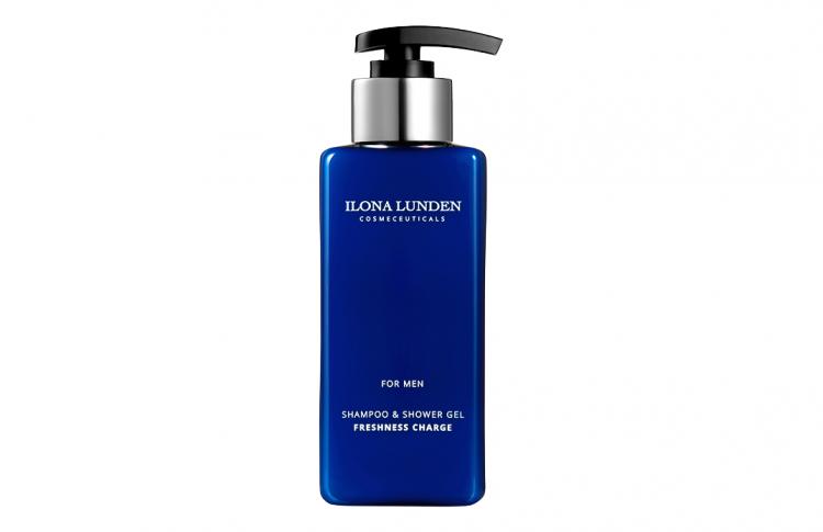 Бренд авторской косметики ILONA LUNDEN выпустил шампунь для мужчин