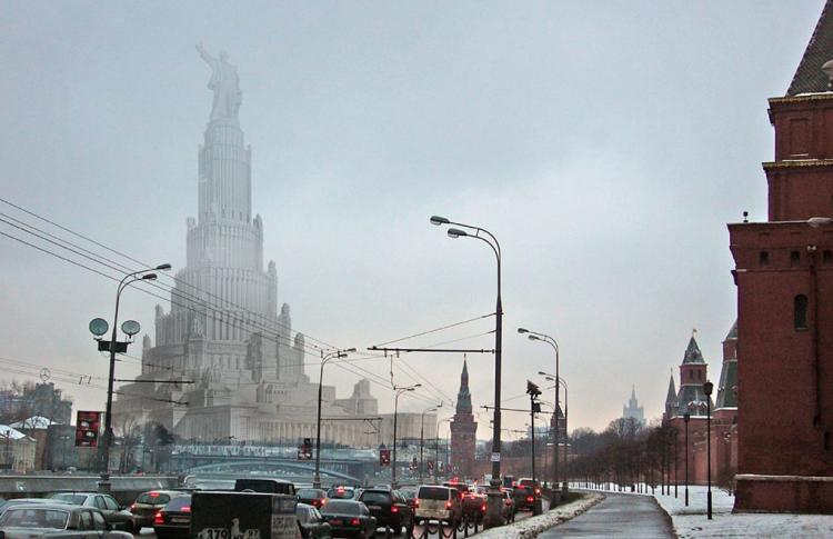 Сто метров Ленина и усыпальница советских богов: несбывшаяся Москва