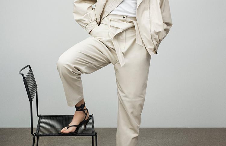4 способа носить белые брюки этой весной