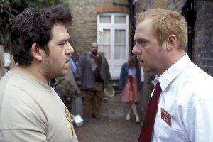 Саймон Пегг и Ник Фрост сняли пародию на «Зомби по имени Шон»