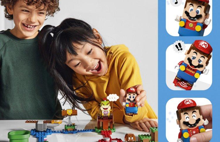 LEGO Group и Nintendo объединились, чтобы вывести легендарную игру на новый уровень