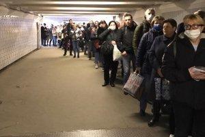 В Москве в первый день действия пропусков образовался транспортный коллапс