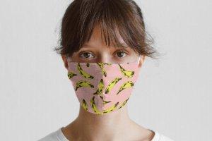 Красивые защитные маски для лица