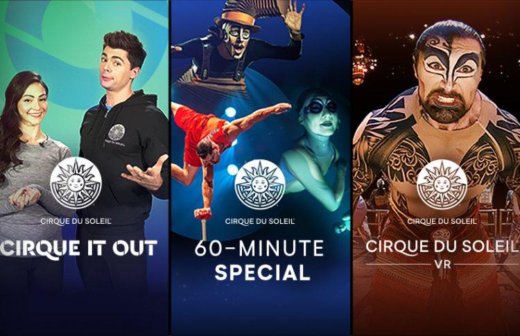 Cirque du Soleil теперь можно смотреть дома