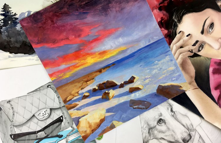 Онлайн-уроки живописи