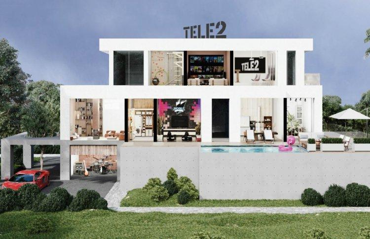Дом, который построил Tele2: как сходить в гости на самоизоляции