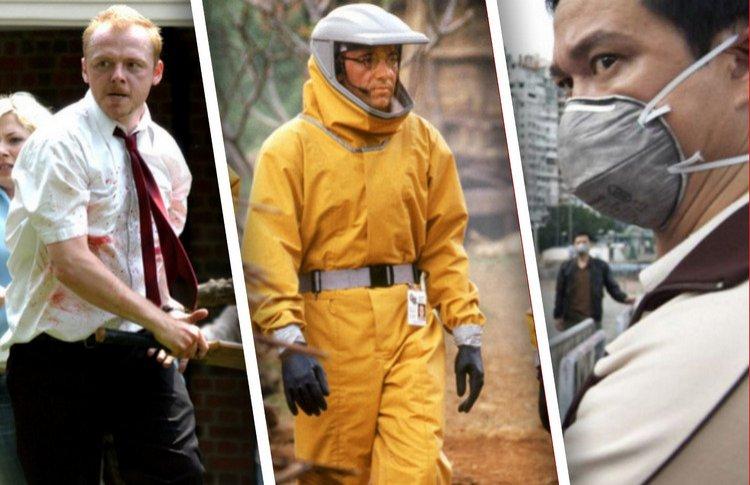 42 интересных фильма про вирусы, пандемии, инфекции, эпидемии и зомби. Очень много зомби!