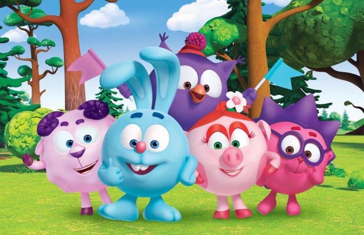 Смешарики на Яндексе: новый детский раздел с мультфильмами, играми и подкастами