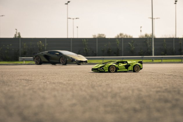 LEGO Group и Automobili Lamborghini презентовали набор LEGO Technic Lamborghini Sián FKP 37