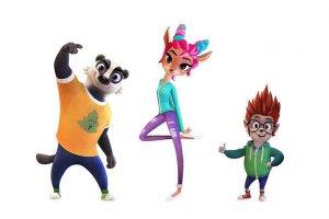Еж, косуля и барсук: новые персонажи в перезапуске «Ну, погоди!»