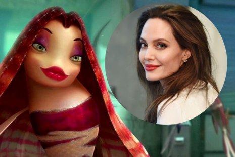 10 персонажей мультфильмов, срисованных с актеров