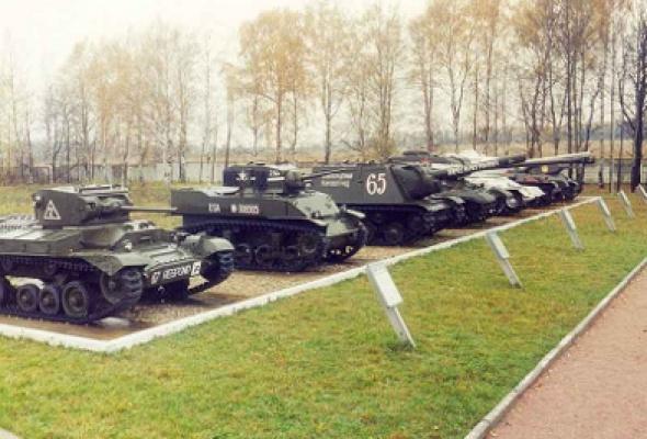 Военно-исторический музей бронетанкового вооружения и техники - Фото №4